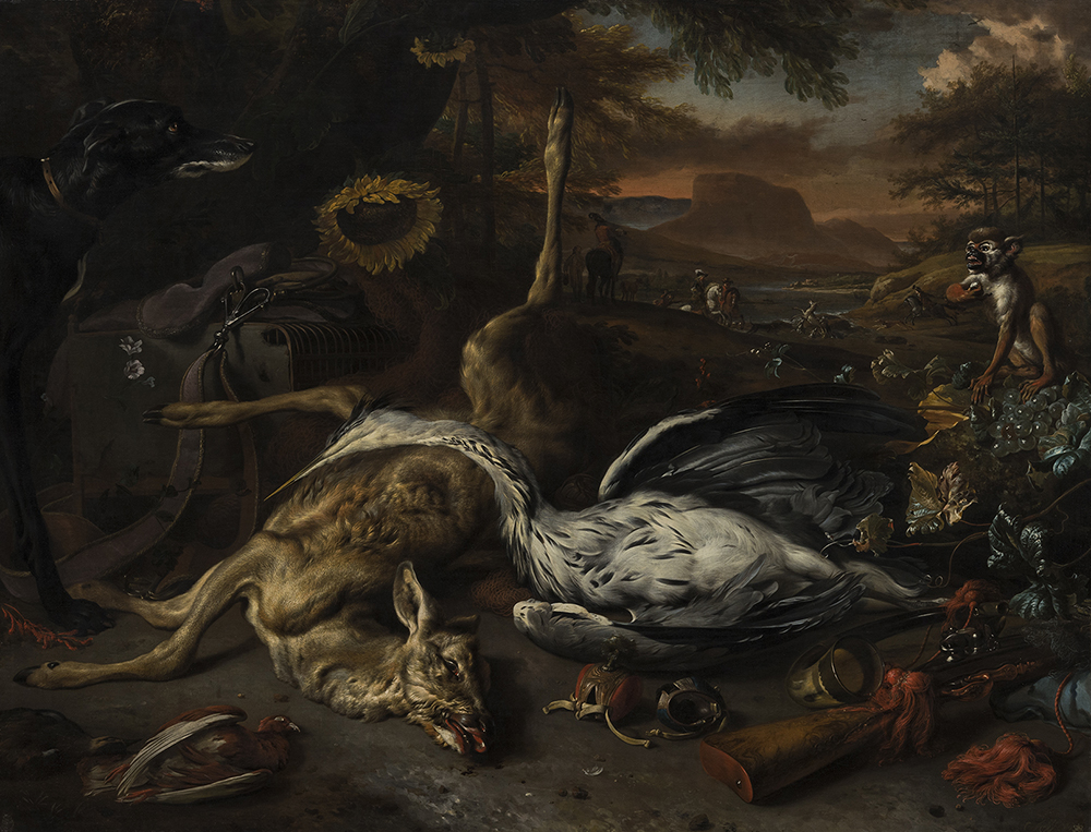 Pile of dead animals