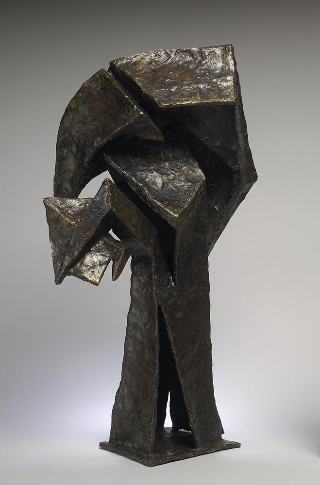 Statue of figure