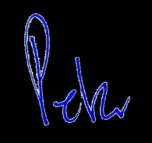 signature of Peter