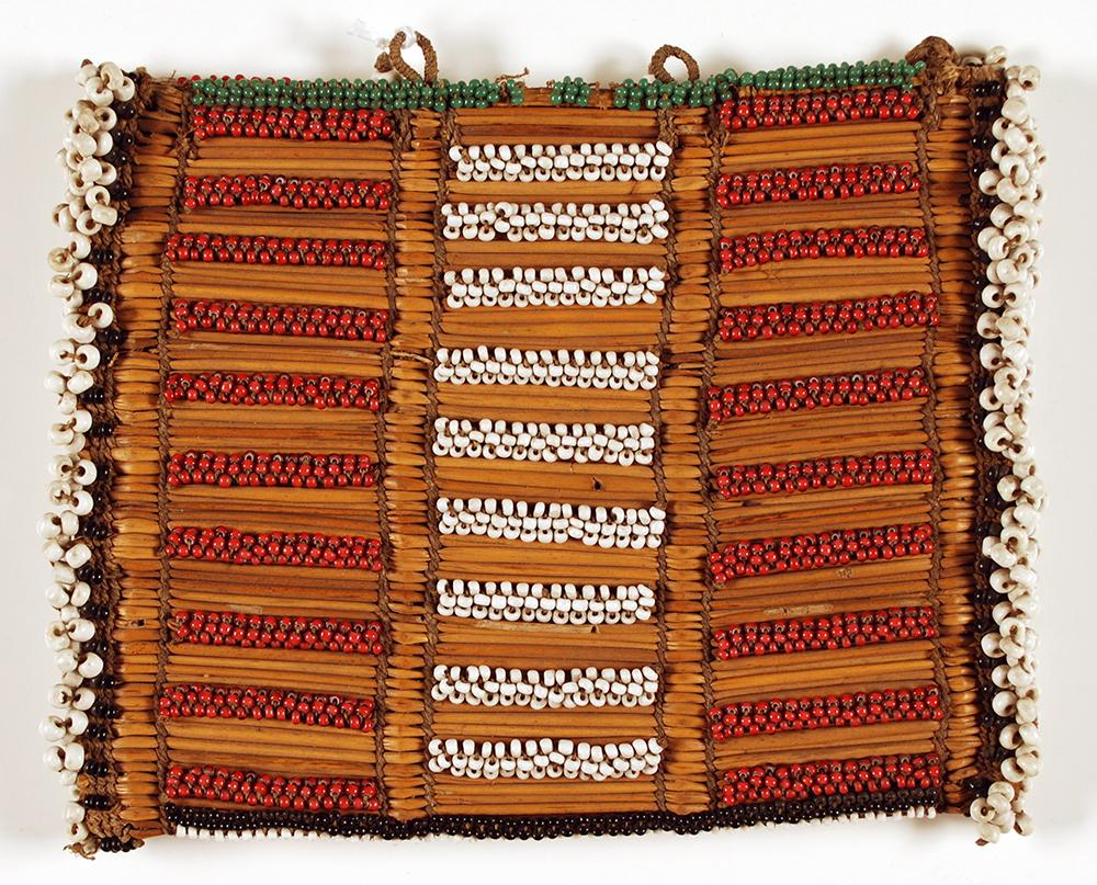 African beadwork purse
