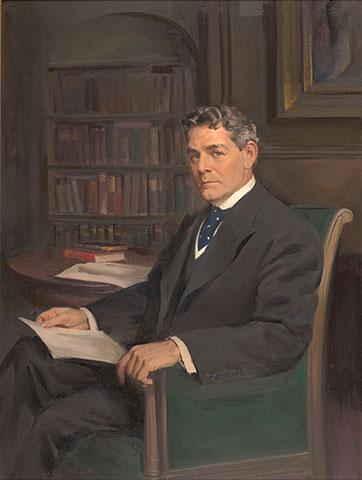 Portrait of William Hayes Ackland