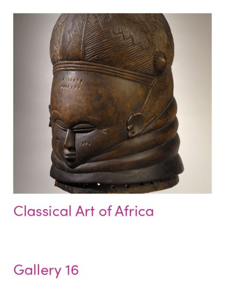 gallery 16 object guide: Classical Art of Africa