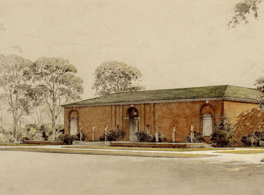 Illustration of the Ackland Art Museum