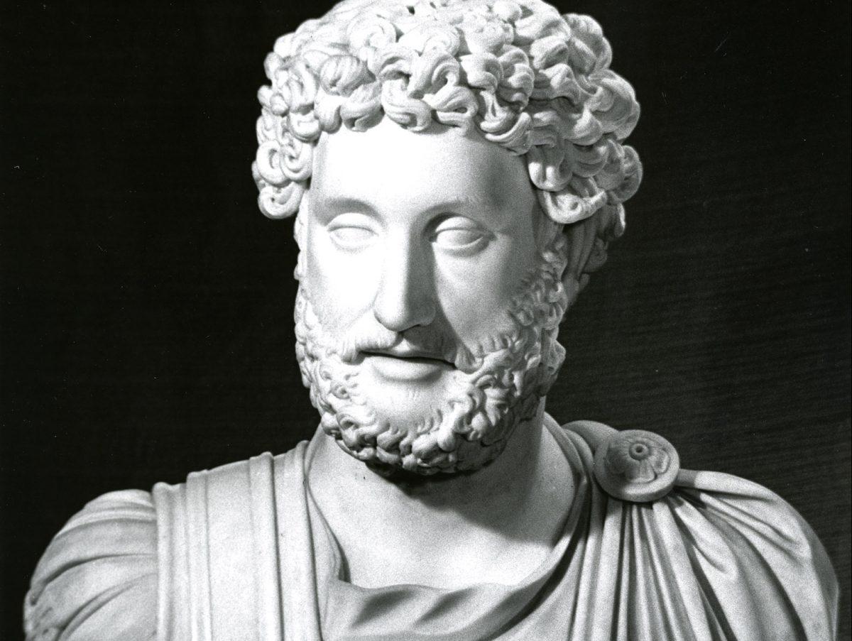 Sculpture of Emperor Commodos
