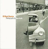 cover of a publication titled All About America: Photographs by Burk Uzzle