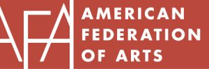 Red and white logo of American Federation of Arts